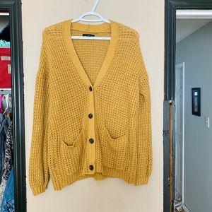 Knitted Grandpa Cardigan